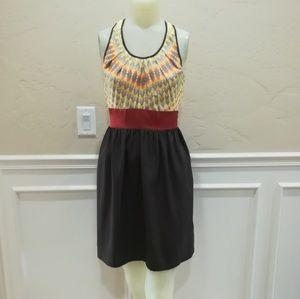 Hype patterned dress